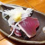 魚哲 - カツオ刺身