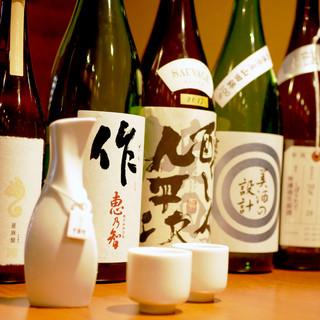 こだわりの地酒・焼酎・自然派ワインなど