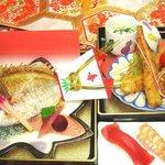 なか安 - お子様用お祝い膳(3,000円)