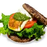 the 3rd Burger - 【期間限定】モッツァレラローカーボバーガー