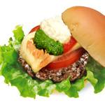 the 3rd Burger - 【期間限定】モッツァレラバジルバーガー