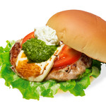 the 3rd Burger - 【期間限定】モッツァレラチキンバーガー