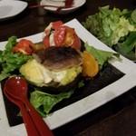 神戸野菜とフルーツ kitchen de kitchen~キッチン デ キッチン~ - トマトとアボカドのグラタン おいしいです