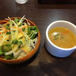 BAKU BAKU - サラダとスープ