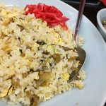 熊っ子ラーメン - サービスランチ 500円 今日は、高菜チャーハン