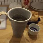 ふじたか食堂 - 賀茂鶴燗酒