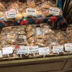 パネッテリーア トリトン - 阪急梅田の催事売り場メニュー(ライ麦などのパン類)