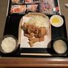 青い薔薇 - 料理写真:ザンギ定食