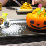 ぽっかぽかcafe - まるごと柿ムース