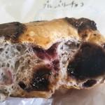 バニトイベーグル - 当日買ったブルーベリーチョコベーグル 生地はモッチリ!チョコはタップリ! あっためるとフォンダンショコラみたいにチョコとろける