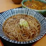 更科 - 「かけ」 シンプルな汁蕎麦