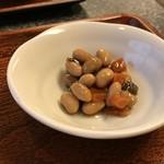 與五郎 - 小鉢は煮豆でした(2018.12.20)