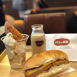 パンの田島+ドトール -