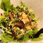 肉割烹 幹の弐 - 宮城32度豚 サラダ仕立て