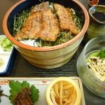 川魚の西友 - ひつまむし御膳