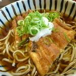 川魚の西友 - 西友蕎麦は鴨or鰻のトッピングチョイス