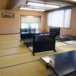 川魚の西友 - 2階の大広間