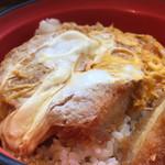 名代 富士そば - カツ丼