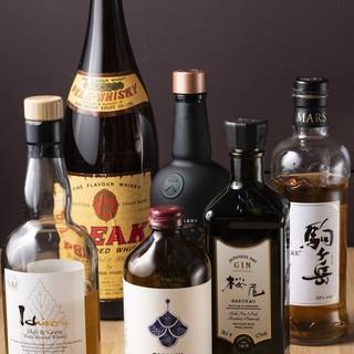 日本の造り手のあらゆるジャンルの酒を