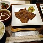 牛たん専門店 大阪屋 - 牛タン三昧ランチ ¥780