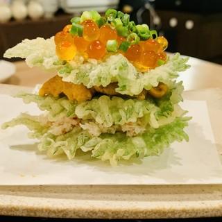 【おすすめ】オリーブオイル100%軽くてヘルシーな天ぷら