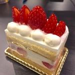 資生堂パーラー - ショートケーキ 669円