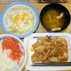 松屋 - 料理写真:豚生姜焼き定食 ¥510(80円引き)