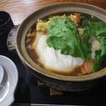 うえすぎ庵 - 料理写真:味噌煮込みうどん
