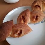 ブーランジェリージラフ フルールドゥスリジエ - 料理写真:ベーコンエピ(250円)
