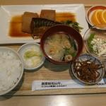98768481 - お母さんの煮鯖とやわらか大根煮の定食 1,058円