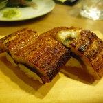 酒場 やまと - ☆鰻の蒲焼の握りもパクリ(^u^)☆