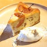 ラポートキッチン - 姫りんごのベイクドケーキ