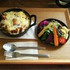 カフェ クオーク - 料理写真:オーブン焼きチーズドライカレー