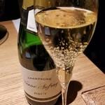 orage - お酒①ヴーヴ・オーフレイ・ブリュットNV:シャンパーニュ(フランス)             1,200円