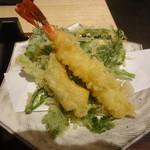 蕎麦六本 - 天ぷら