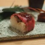 98779546 - 和牛棒寿司