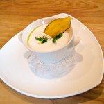 トラットリア レット - 大西農園 さつまいものスープ カプチーノ仕立て