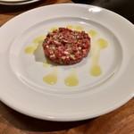 SAISIR - 牛肉のタルタルステーキ1