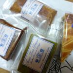 トゥレ・ドゥー - 4種類の焼き菓子を購入
