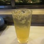 江戸富士 - 梅酒ソーダ