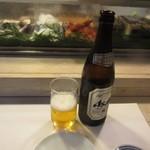 江戸富士 - ビールはアサヒ