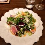 レストランsan - サラダ
