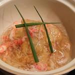 禅紫 - 海老芋のカニあんかけ
