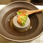 禅紫 - 黒胡麻豆腐