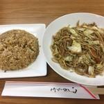 中国料理晃蘭 - 炒飯・焼きそばセット