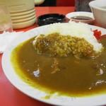 点勝園 - 料理写真:カレーライスラーメンセット750円のカレーライス、フルサイズです