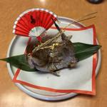 黒豚料理 寿庵 - 鯛の塩焼き