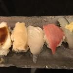 えんどう寿司 - 上まぜ 4皿目