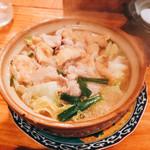 一品料理 ひとしな - 豚バラ白菜鍋
