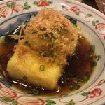 ひょうたん - 揚出豆腐